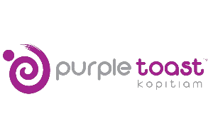 purple toast